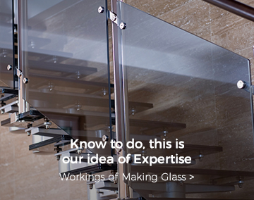 Know to do, this is our idea of Expertise, workings of Making Glass